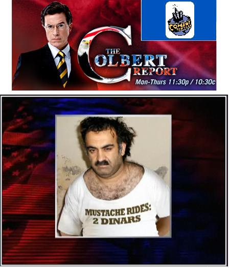 The Colbert Report: Mustache Rides