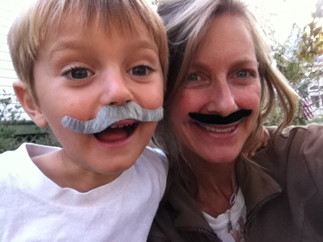 Ronstache Day 2011: Mother and son