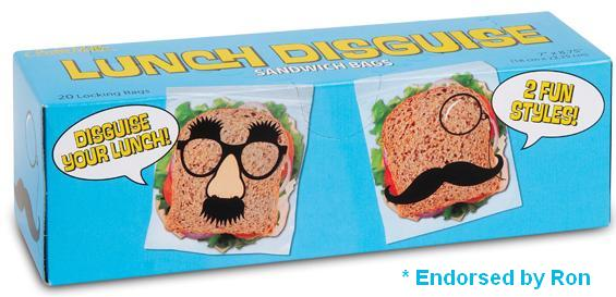 Pack a Lunch Fit for Ron