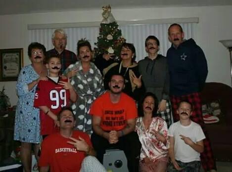 Mustache Christmas 2014