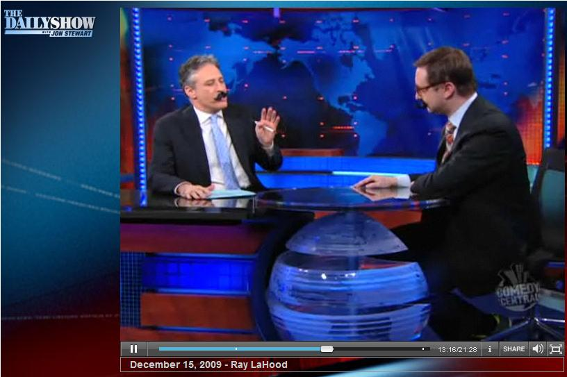 The Daily Show with Ron Stewart