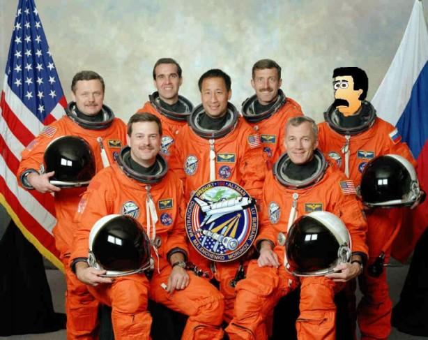 Cosmonaut Ron